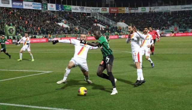 ÖZET | Denizlispor - Göztepe maç sonucu: 1-1