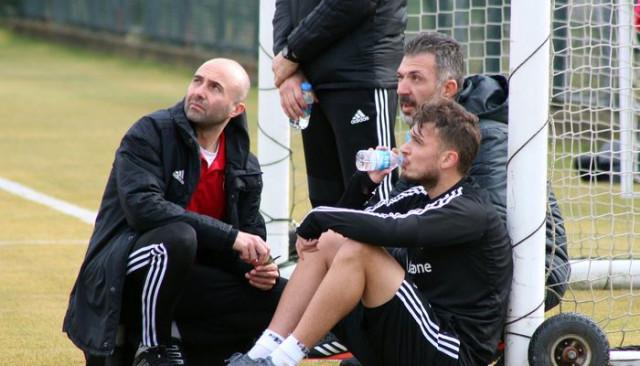 Beşiktaş'ta Ljajic'in başı döndü, Gökhan Gönül ayağına darbe aldı