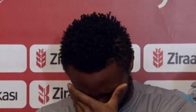 John Obi Mikel'in gözyaşları