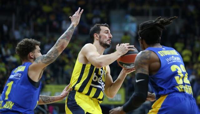 ÖZET | Fenerbahçe - Maccabi maç sonucu: 77-78