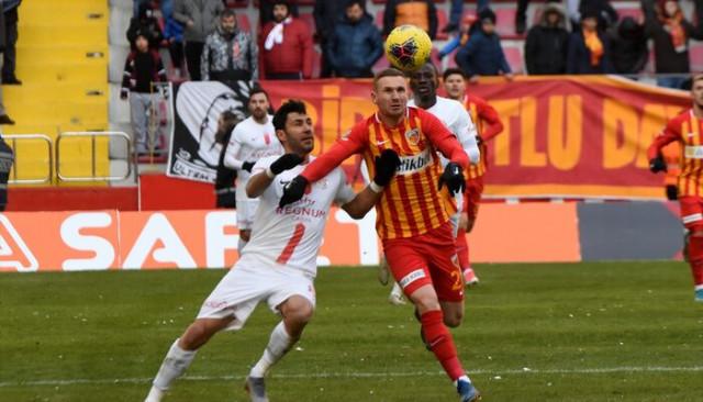 ÖZET | Kayserispor - Antalyaspor maç sonucu: 2-2