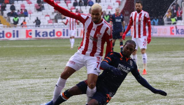 ÖZET | Sivasspor 1-1 Başakşehir maç sonucu