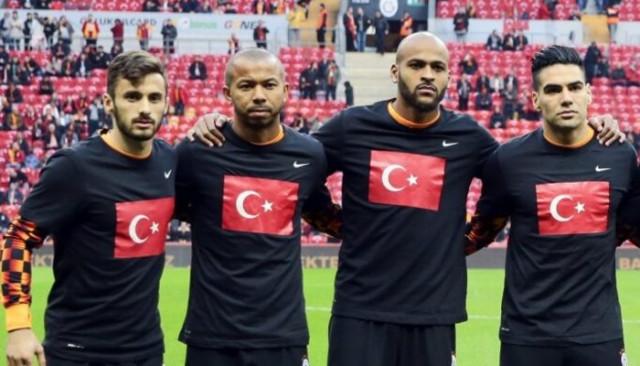 Galatasaray'da Falcao, Mariano ve Saracchi'nin açıklamaları