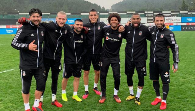 Beşiktaş, Caner Erkin'siz çalıştı