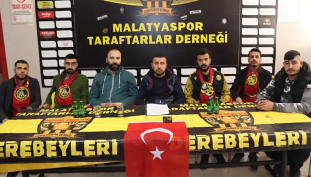 BtcTurk Yeni Malatyaspor taraftarından hakem tepkisi