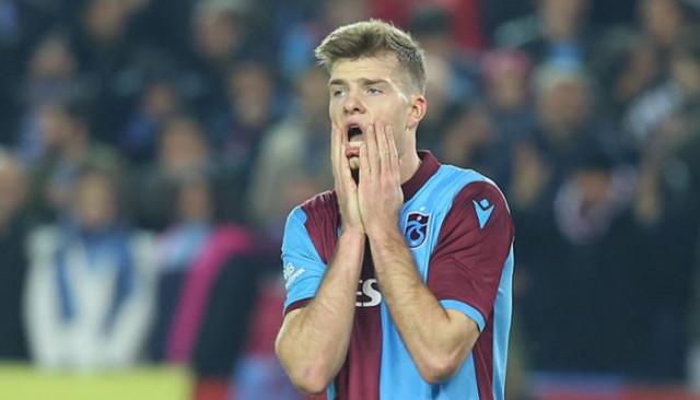 Trabzonspor'da Sörloth sakatlandı!