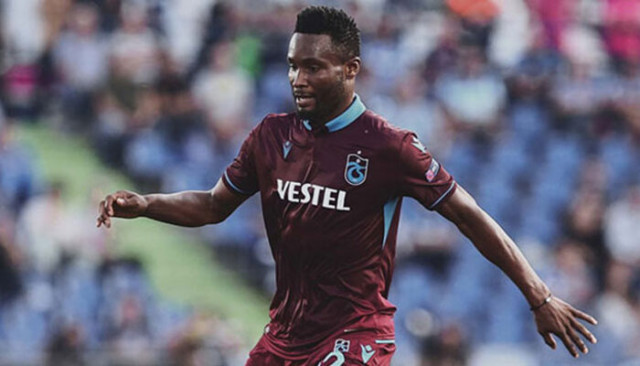 Trabzonspor, John Obi Mikel'in sözleşmesini feshettiğini duyurdu!