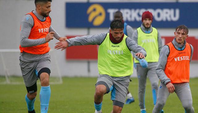 Trabzonspor, Göztepe maçı hazırlıklarına devam etti