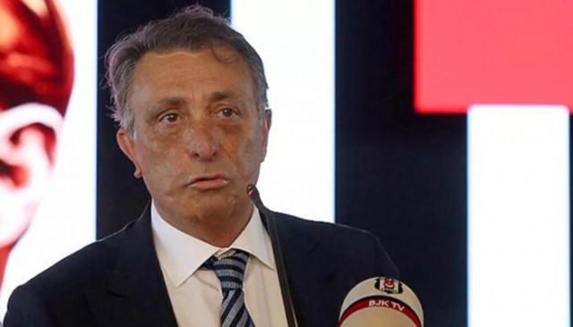 Beşiktaş Başkanı Ahmet Nur Çebi açıkladı.