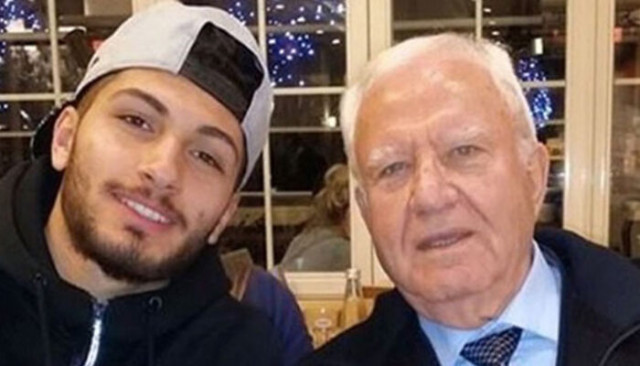 Trabzonsporlu futbolcu Çörekçi'nin dedesi Londra'da hayatını kaybetti