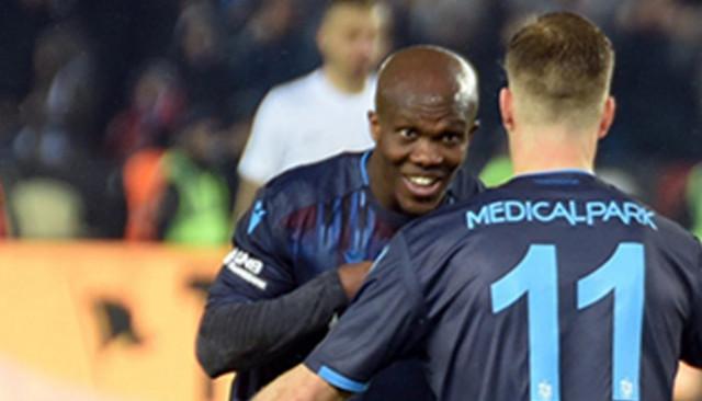 Trabzonspor'da Sörloth ve Nwakaeme Avrupa'da yıldızları zorluyor
