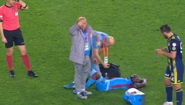 Trabzonspor'da sakatlık şoku! Badou Ndiaye...