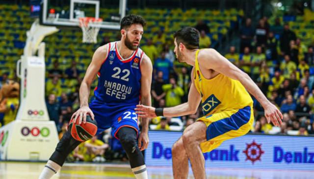 ÖZET | Maccabi FOX 77 -75 Anadolu Efes (THY Avrupa Ligi)