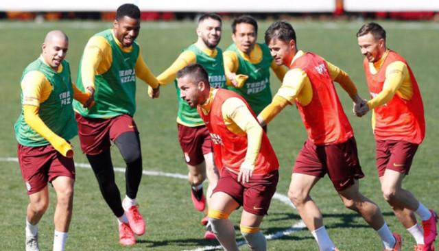 Galatasaray Sivasspor maçına hazır