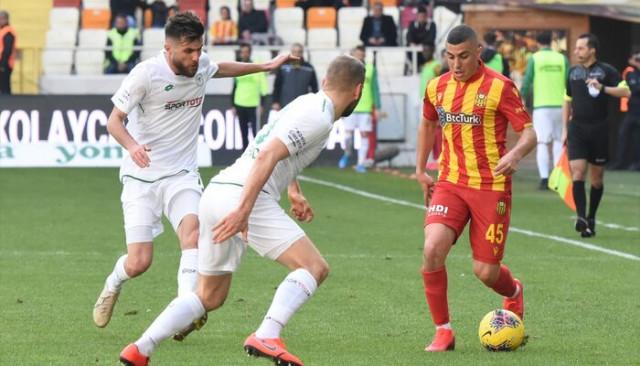 ÖZET | Yeni Malatyaspor-Konyaspor maç sonucu: 1-1