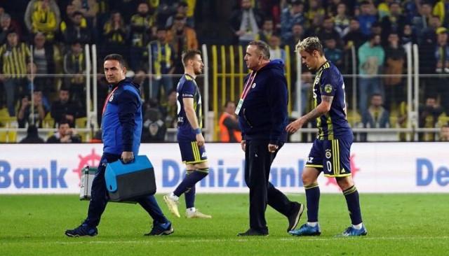 Fenerbahçe'de Max Kruse sakatlandı