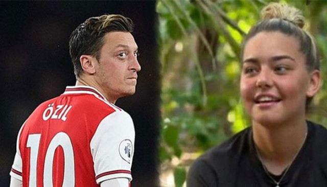 Mesut Özil ve Amine Gülşe'den Survivor Aycan'a mesaj!
