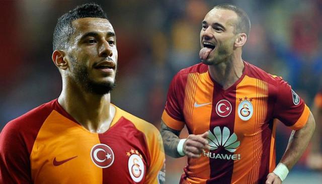 Younes Belhanda'dan Sneijder itirafı: Benden daha iyi!