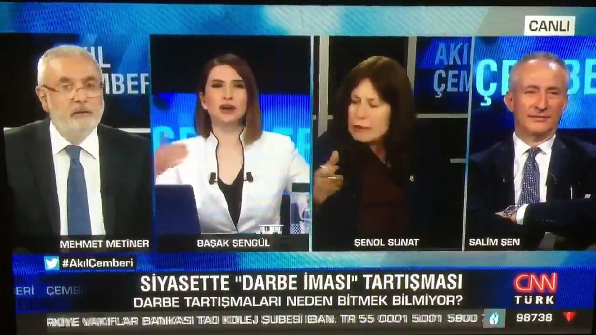 AK Partili Mehmet Metiner'e canlı yayında soğuk duş