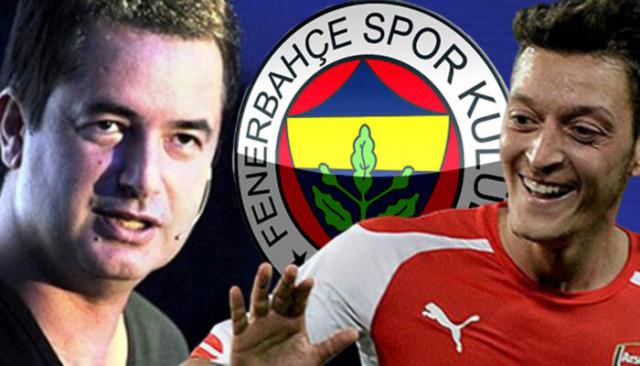 Acun Ilıcalı: Mesut Özil'in sözleşmesi bittiğinde favori Fenerbahçe