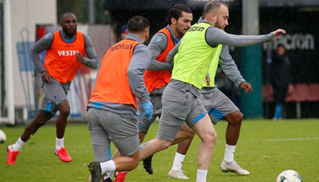 Trabzonspor, takım halinde çalıştı