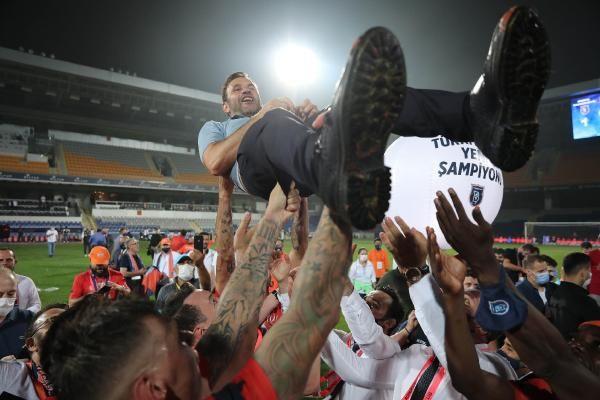 Başakşehir'de şampiyonluk coşkusu!