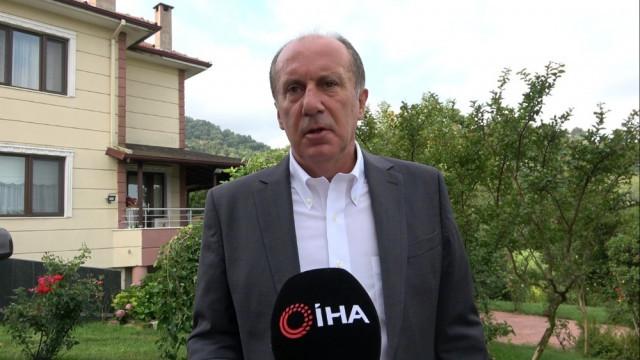 CHP'li İnce: Diyanet'in değil, Allah'ın davetine uyacağım