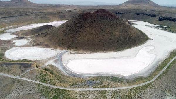 Meke Gölü'ne gömülen patlayıcıyla ilgili yeni gelişme