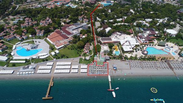 5 yıldızlı otelin plaj isyanı