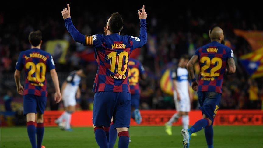 Messi'nin günlük maaşı: 386 bin euro!