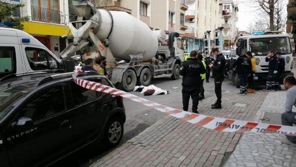 İstanbul'da beton mikseri dehşeti: 1 ölü